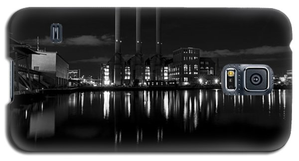 Manchester Street Power Station Galaxy S5 Case by Andrew Pacheco