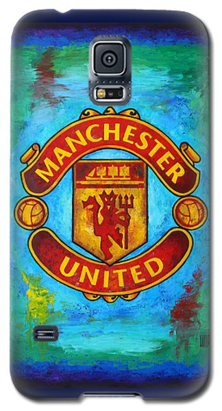 Manchester United Vintage Galaxy S5 Case by Dan Haraga