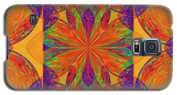 Galaxy S5 Case featuring the digital art Mandala #2  by Loko Suederdiek