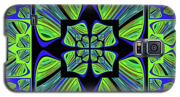 Galaxy S5 Case featuring the digital art Mandala #22 by Loko Suederdiek