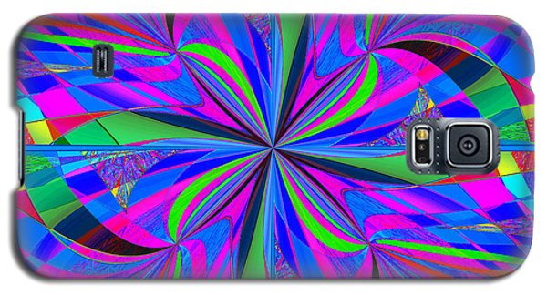 Galaxy S5 Case featuring the digital art Mandala #46 by Loko Suederdiek