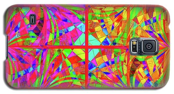 Galaxy S5 Case featuring the digital art Mandala #48 by Loko Suederdiek