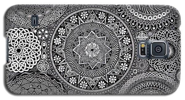 Mandala Bouquet Galaxy S5 Case by Matthew Ridgway