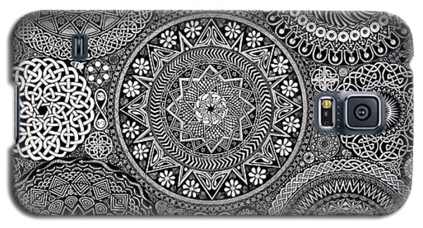 Mandala Bouquet Galaxy S5 Case by Matthew Ridgway