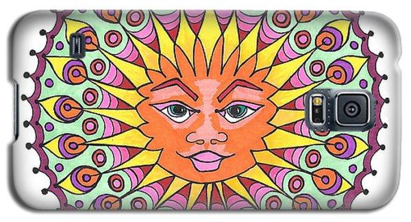 Peacock Sunburst Galaxy S5 Case