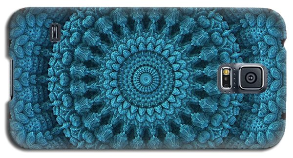 Galaxy S5 Case featuring the digital art Mandala For The Masses by Lyle Hatch