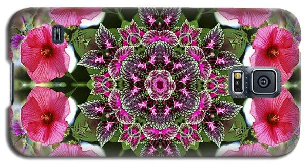 Mandala Pink Patron Galaxy S5 Case