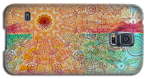 Mandala Sets Over The Dunes Galaxy S5 Case