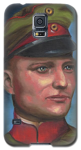 Manfred Von Richthofen The Red Baron Galaxy S5 Case