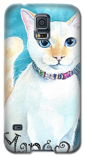 Mango - Flame Point Siamese Cat Painting Galaxy S5 Case
