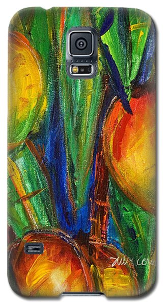 Mango Tree Galaxy S5 Case by Julie Kerns Schaper - Printscapes