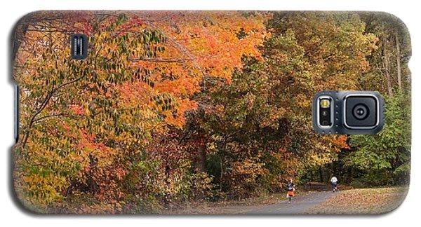 Manhan Rail Trail Fall Colors Galaxy S5 Case