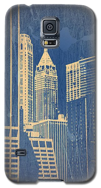Manhattan 1 Galaxy S5 Case by Naxart Studio
