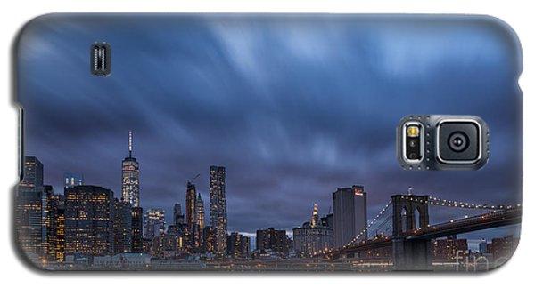 Manhattan And Brooklyn Bridge Galaxy S5 Case