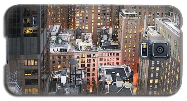 Manhattan At Dusk Galaxy S5 Case