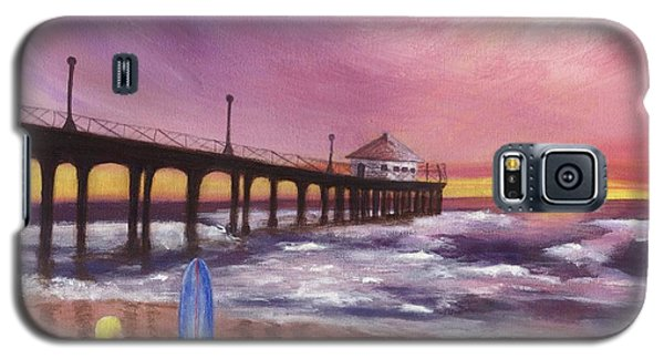 Manhattan Beach Pier Galaxy S5 Case