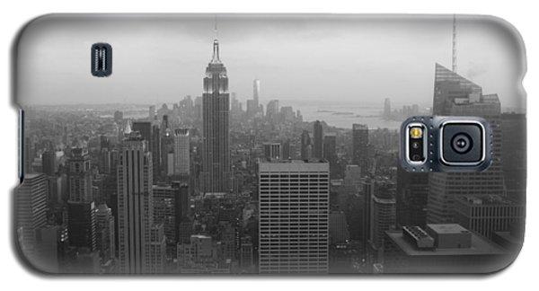 Manhattan Black And White Galaxy S5 Case