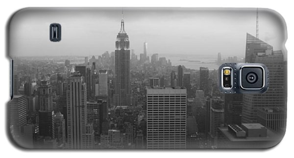 Manhattan Black And White Galaxy S5 Case