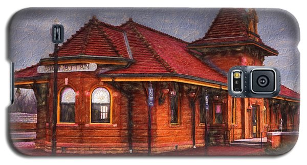 Manhattan Kansas Train Depot Galaxy S5 Case