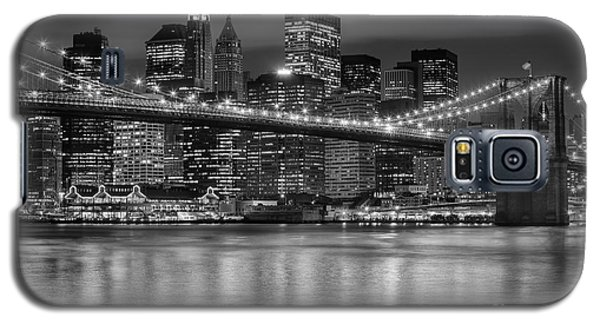 Manhattan Night Skyline Iv Galaxy S5 Case