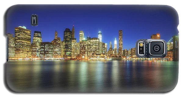 Manhattan Nite Lites Nyc Galaxy S5 Case