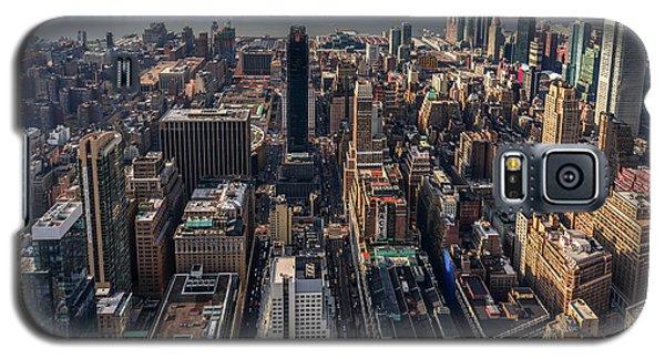 Manhattan, Ny Galaxy S5 Case by Martina Thompson