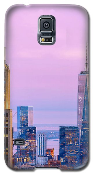 Sunset Galaxy S5 Case - Manhattan Romance by Az Jackson