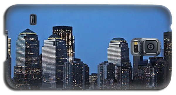 Galaxy S5 Case featuring the photograph Manhattan Skyline by John Haldane