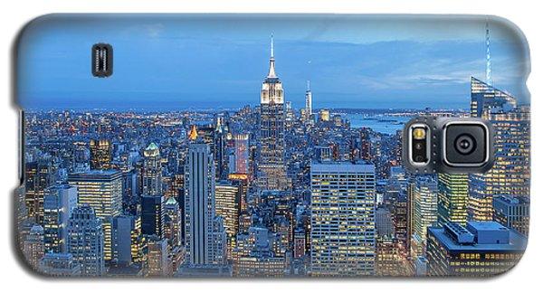 Empire State Building Galaxy S5 Case - Manhattan Skyline New York City by Az Jackson