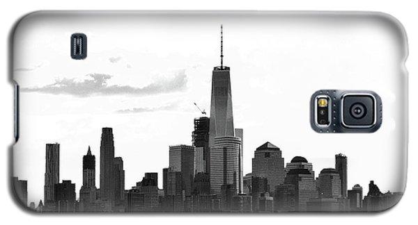 Manhattan Skyline No. 17-2 Galaxy S5 Case by Sandy Taylor