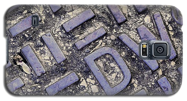 Manhole Cover Galaxy S5 Case