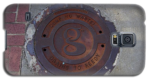 Manhole II Galaxy S5 Case by Flavia Westerwelle