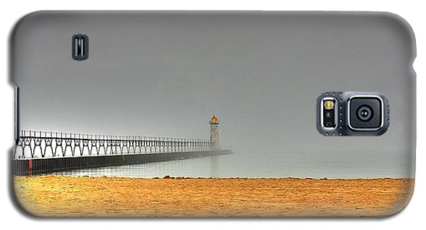 Manistee Light And Fog Galaxy S5 Case