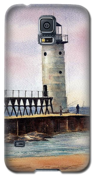 Manistee North Pierhead Light Galaxy S5 Case