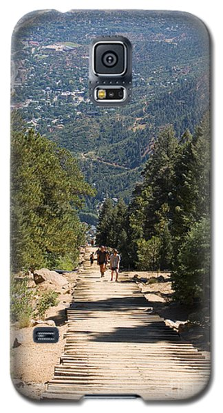 Manitou Springs Pikes Peak Incline Galaxy S5 Case