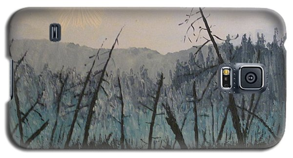 Galaxy S5 Case featuring the painting Manitoulin Beaver Meadow by Ian  MacDonald