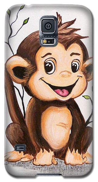 Manny The Monkey Galaxy S5 Case