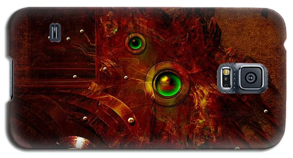 Galaxy S5 Case featuring the digital art Manometer by Alexa Szlavics