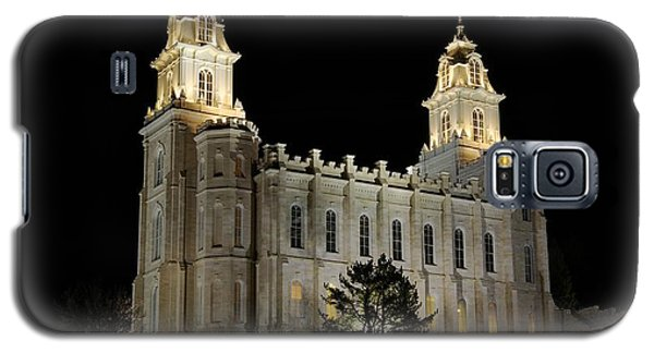 Manti Temple Night Galaxy S5 Case