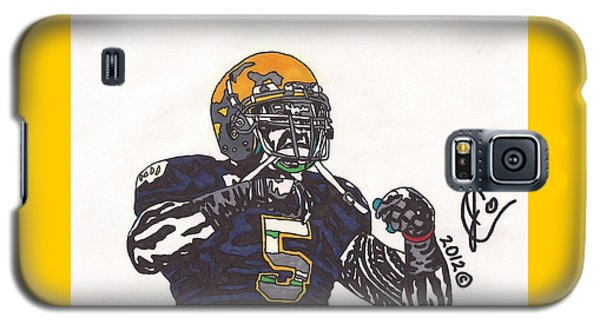 Manti Te'o 1 Galaxy S5 Case by Jeremiah Colley