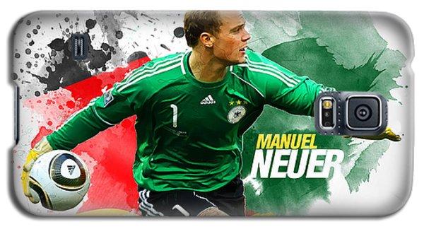 Manuel Neuer Galaxy S5 Case by Semih Yurdabak