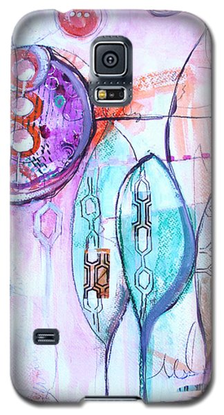 Many Moons Galaxy S5 Case by Karin Husty