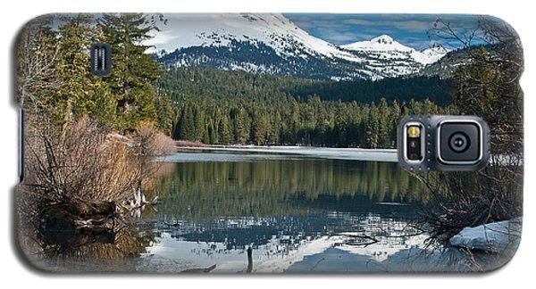 Manzanita Lake Reflects On Mount Lassen Galaxy S5 Case