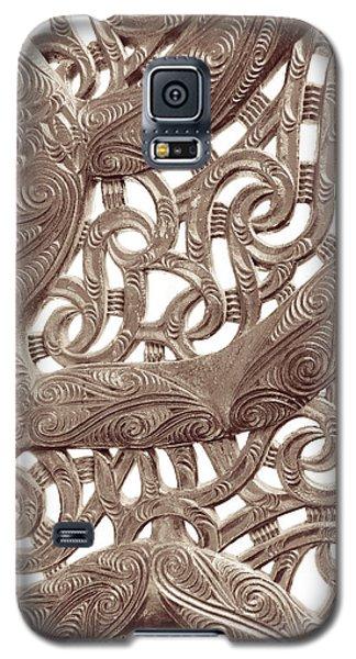 Maori Abstract Galaxy S5 Case