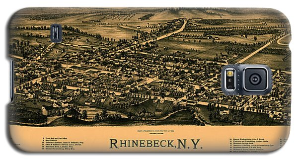 Map Of Rhinebeck 1890 Galaxy S5 Case