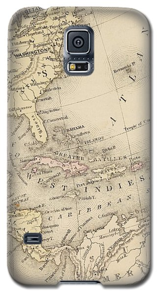 Map Galaxy S5 Case by Sample