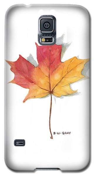 Maple Leaf Galaxy S5 Case