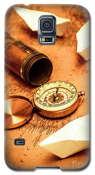 Maps And Bearings Galaxy S5 Case
