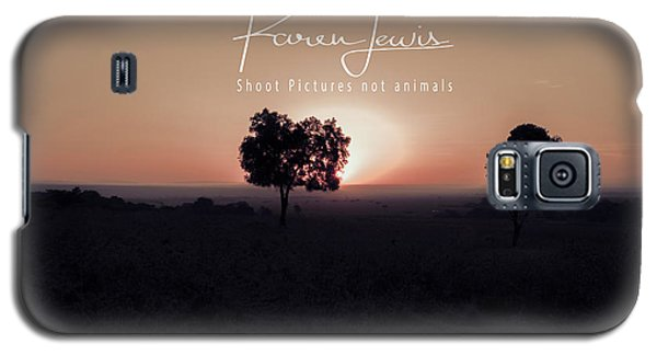 Galaxy S5 Case featuring the photograph Mara Morning by Karen Lewis