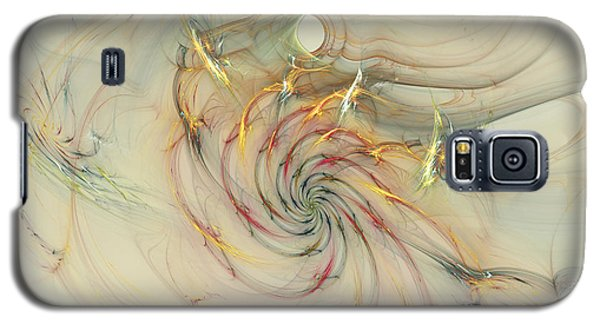 Marble Spiral Colors Galaxy S5 Case